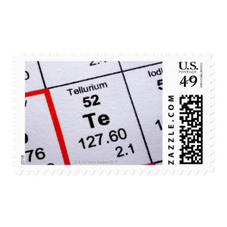 Tellurium molecular formula postage