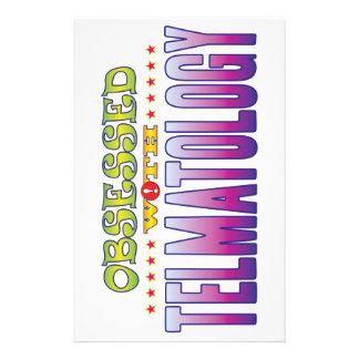 Telmatology 2 obsesionado papelería personalizada