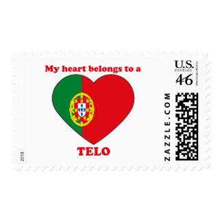 Telo Postage Stamp
