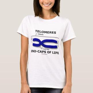 Telomeres End-Caps Of Life (Biology Humor) T-Shirt