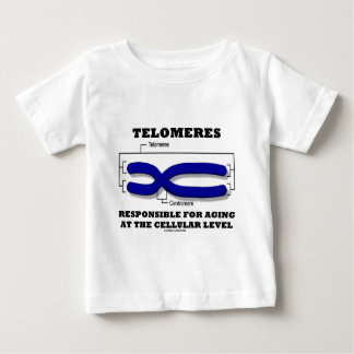 Telomeres Responsible For Aging At Cellular Level Baby T-Shirt