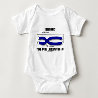 Telomeres Tying Up The Loose Ends Of Life Baby Bodysuit