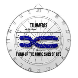 Telomeres Tying Up The Loose Ends Of Life Dartboard With Darts