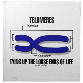 Telomeres Tying Up The Loose Ends Of Life Napkin