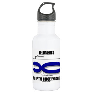Telomeres Tying Up The Loose Ends Of Life Water Bottle