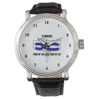 Telomeres Tying Up The Loose Ends Of Life Wristwatch