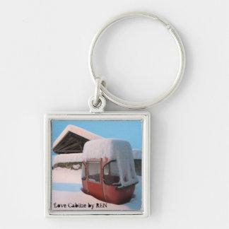 Telpher carrier or Coils Cabin by Swiss artist REN Keychain