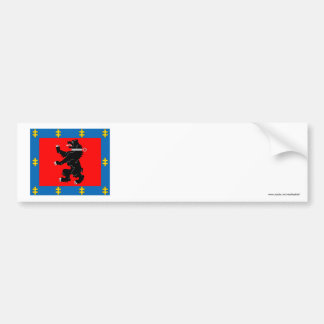 Telsiai County Flag Bumper Stickers
