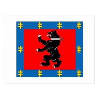 Telsiai County Flag Postcard
