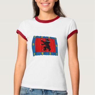 Telsiai County Waving Flag T-Shirt