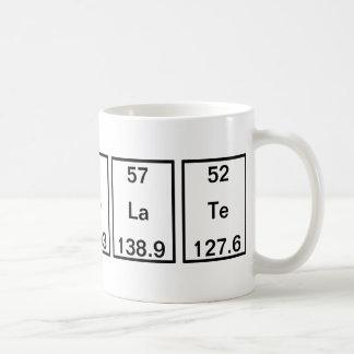 Telurio del lantano del cobalto del holmio del taza de café