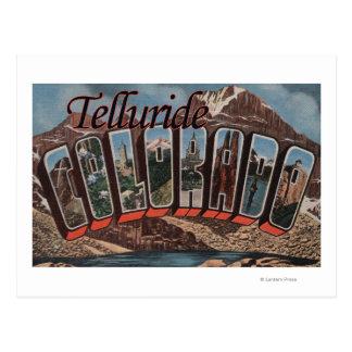 Telururo, Colorado - escenas grandes de la letra Tarjetas Postales