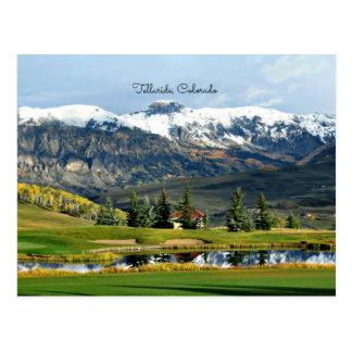 Telururo hermoso, paisaje de Colorado Tarjeta Postal