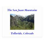 Telururo, San Juan las montañas de Colorado, Tarjetas Postales