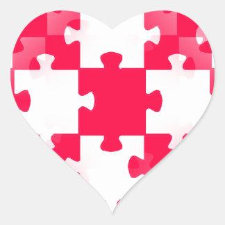 Tem blanco ROJO de los papeles pintados de los Pegatina En Forma De Corazón