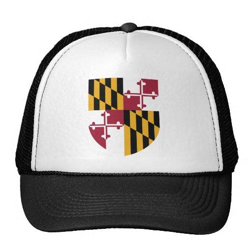 Tema 00 de la bandera de Maryland Gorras