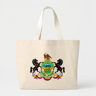 Tema 00 de la bandera de Pennsylvania Bolsa De Tela Grande