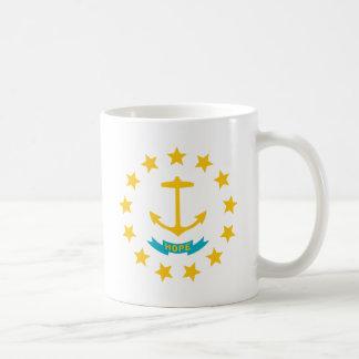 Tema 00 de la bandera de Rhode Island Taza