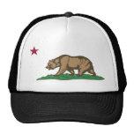 Tema 01 de la bandera de California Gorros Bordados