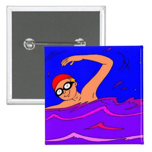 Tema #1 de la natación pins