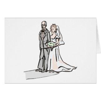 Tema 36 del boda tarjeta