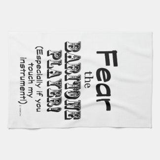 Tema al jugador del barítono toallas