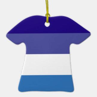 Tema brasileño de la bandera de G0YS Adorno De Cerámica En Forma De Playera