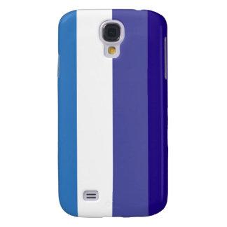 Tema brasileño de la bandera de G0YS Funda Para Galaxy S4