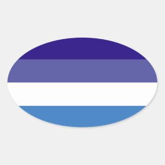 Tema brasileño de la bandera de G0YS Pegatina Ovalada