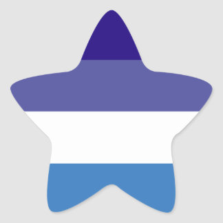Tema brasileño de la bandera de G0YS Pegatina En Forma De Estrella