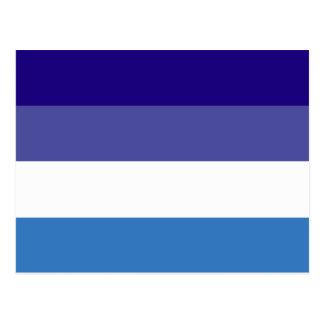 Tema brasileño de la bandera de G0YS Postales