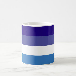 Tema brasileño de la bandera de G0YS Taza Básica Blanca