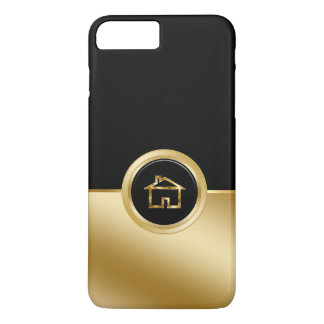 Tema con clase del agente inmobiliario funda iPhone 7 plus