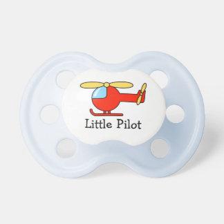 Tema de la aviación del pacificador el | del chupetes para bebés