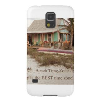 Tema de la cabaña de Florda del tiempo de la playa Fundas De Galaxy S5