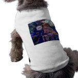 Tema de la madre tierra del universo camiseta de perro