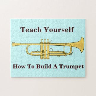 Tema de la música de la trompeta de oro puzzles