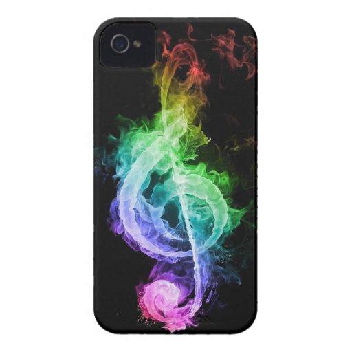 tema de la música Case-Mate iPhone 4 protector