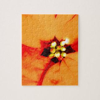 tema de la planta del resplandor puzzle