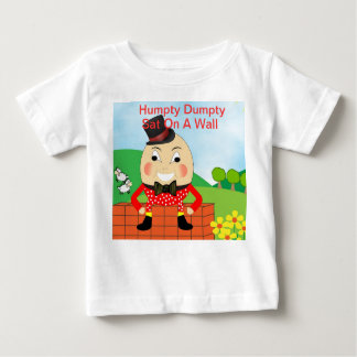 Tema de la poesía infantil de Humpty Dumpty T Shirt