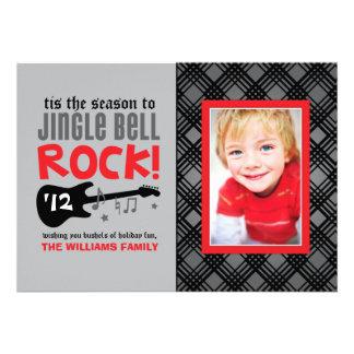 Tema de la roca de la tarjeta el   Jingle Bell de  Anuncios