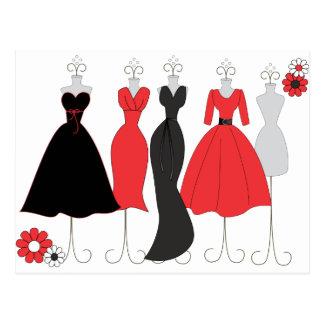Tema de la Tienda-Margarita del vestido Postales
