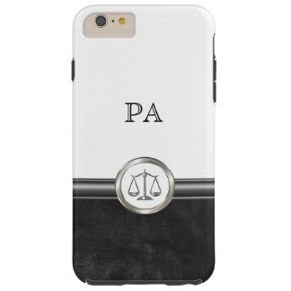 Tema de lujo del abogado funda de iPhone 6 plus tough