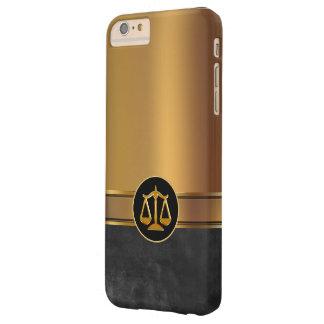 Tema de lujo del abogado funda para iPhone 6 plus barely there