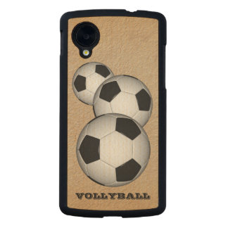 TEMA DE VOLLYBALL FUNDA DE NEXUS 5 CARVED® SLIM DE ARCE