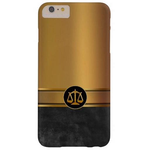 Tema del abogado de los hombres de lujo funda de iPhone 6 plus barely there