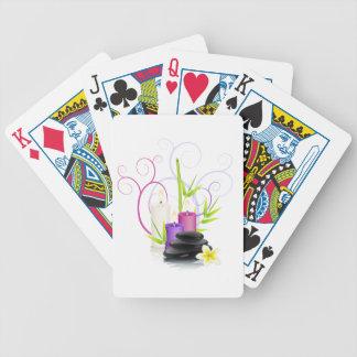 Tema del balneario barajas de cartas