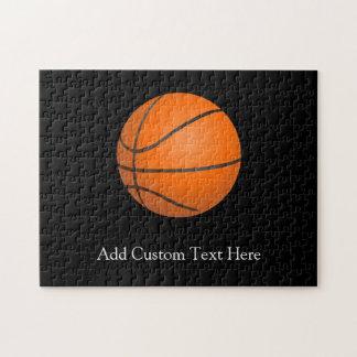 Tema del baloncesto rompecabezas