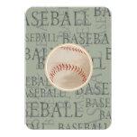 """Tema del béisbol de la tarjeta de Mitzvah RSVP del Invitación 3.5"""" X 5"""""""