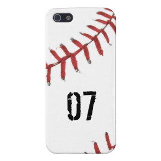 Tema del béisbol iPhone 5 carcasa